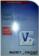 Microsoft Visio Office Standard 2010 Full Version AE Edition Retail