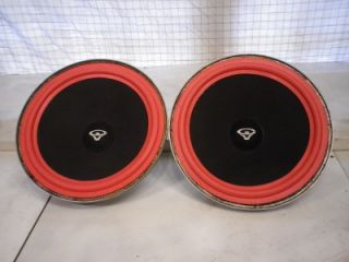 Pair of Cerwin Vega L121 4 Woofers 12 inch New Surrounds