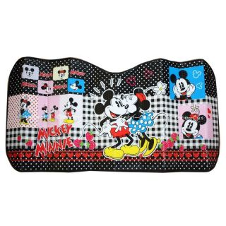 Mickey Mouse Minnie Car Windshield Block Sun Shade