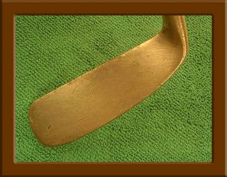 Vintage Doug Ford  Forward Offset Brass Blade Putter 35 Original