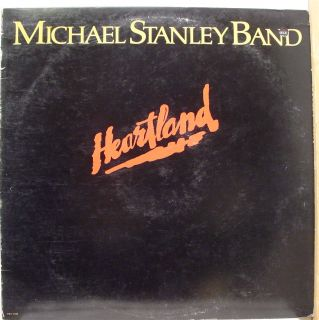 Michael Stanley Band Heartland LP VG SW 17040 Vinyl 1980 Record