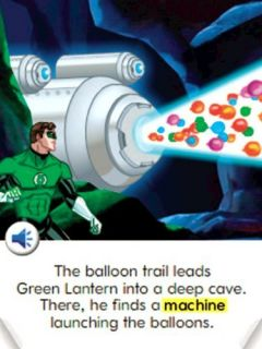 Fisher Price iXL Learning System Software Green Lantern 3D