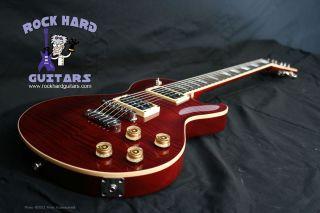 Dean USA Thoroughbred Single Cut Trans Cherry w Gibson Les Paul Sig