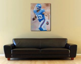 Michael Strahan New York Giants Original Oil Painting