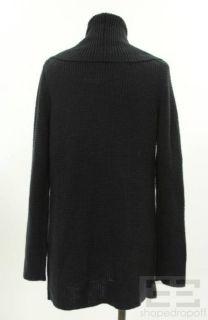 Michael Michael Kors Slate Gray Wool Knit Cardigan Size Small