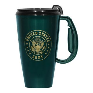 US Army Crest Travel and Coffee Mug