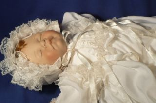 NEWBORN BABY Doll Signed Numbered Lee Middleton First Moments 1983