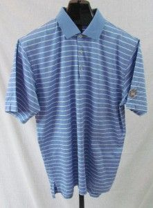 Peter Millar UNC Tarheels Mens Golf Shirt Large See Details