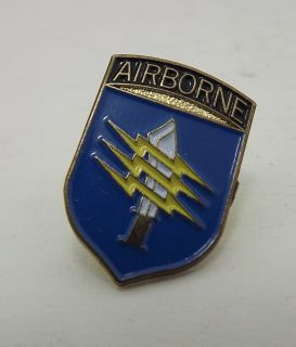 New Airborne Knife Lighting Bolt Military Hat Pin Lapel Pin
