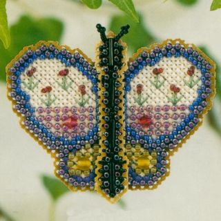 Butterfly Bead Ornament Kit Mill Hill 2002 Spring Bouquet