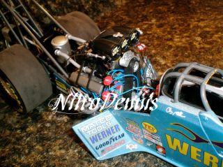 NHRA Clay Millican 1 16 Milestone IHRA Top Fuel Nitro Dragster Werner