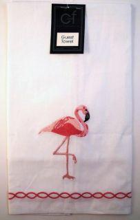 Tropical Pink Flamingo Mingo Kitchen Towel