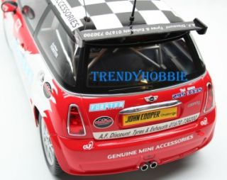 Mini Cooper Remote Control Electric Toy RC Car 110 Scale RTR