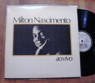 Milton Nascimento, singing some of the best songs he has become famous
