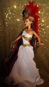 Roman Goddess Minerva Wisdom Medicine Poetry OOAK Barbie Doll Athena