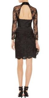 Karen Millen Little Black Lace Dress for Evening Cocktail Wedding US