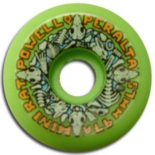 Powell Peralta Mini Rats Skateboard Wheels 57mm 97A Green