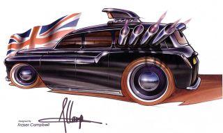 2007 Hot Wheels 050 1955 Chevy Bel Air