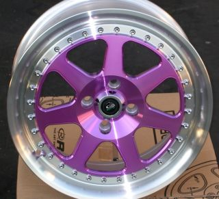 Rota J Mag 15x7 4x100 40 67 1 Royal Purple Rim Wheel