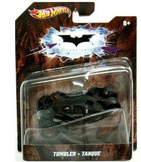 batman 2012 Hot Wheels Black Tumbler Dark Knight Batmobile ★1 50
