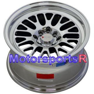 15 15x8 XXR 531 Platinum Wheels Rims Deep Dish 4x100 Stance 01 Acura