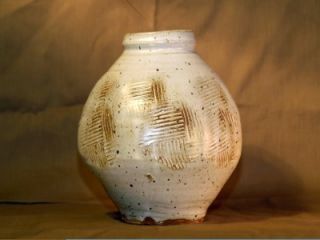 Large Museum Qty Warren Mackenzie Studio Mingei Pottery Vase Shoji