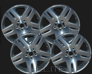 2006 2008 Chevy Impala 17x6 5 Factory Replacement Sparkle Silver Set