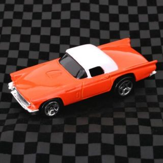 2008 Hot Wheels Mystery 1957 Ford Thunderbird T Bird Pink Coral