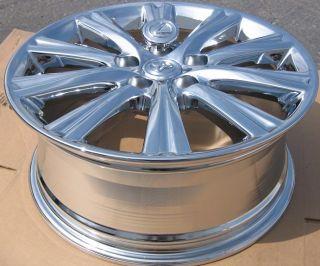 17 Lexus ES350 Chrome Wheels Rims 2007 12 Exchange Your Stock