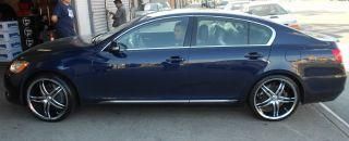Viscera 770 22 Chrome Rims Wheels Nissan Maxima Altima 5 x 114 3