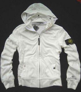 Star D G New Men Stone Island Hoodie Sweater 03 White