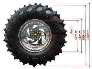Monster Rims Tires Wheels MRF 1 10 Offroad Pimp