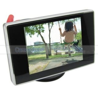 Mini 3 5 TFT LCD Monitor for Car Rear View CCTV Camera High