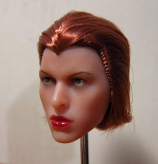 Milla Jovovich 1/6 Head Sculpt @ Hot Toys HeadPlay Resident Evil Alice