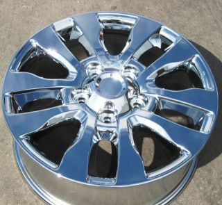 STOCK 4 20 FACTORY TOYOTA SEQUOIA PLATINUM TUNDRA CHROME WHEELS RIMS