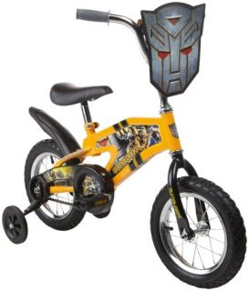 Features of Transformers 2 Bumblebee Boys Bike (12 Inch Wheels)