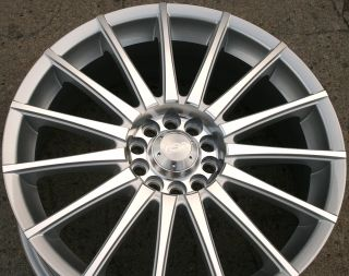 Adr Interspeed 18 Silver Rims Wheels Maxima Altima Murano 18 x 7 5 5H