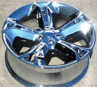 STOCK 4 NEW 20 FACTORY FORD TAURUS CHROME OEM WHEELS RIMS 2010 2013