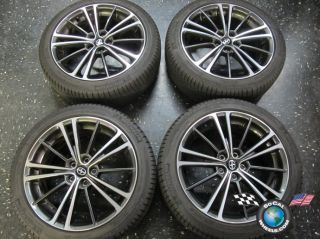 Four 2013 Scion FR S FRS Factory 17 Wheels Tires Rims OEM Michelin 215