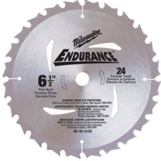 Milwaukee 48 40 4108 6 1 2 FRAMING Ripping Circular Saw Blade