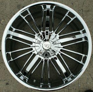 Legacy LG7 22 Chrome Rims Wheels Honda Odyssey Ridgeline 22 x 8 5 5H