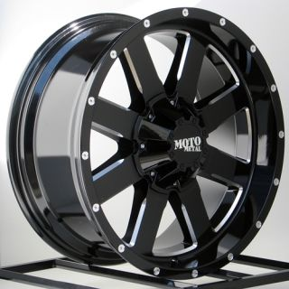 Black Wheels Rims Chevy Silverado GMC Sierra 2500 3500 2011 2012 8x180