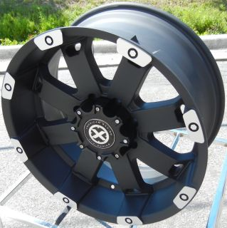 20 Black Machined ATX Crawl Wheels Rims Ford F150 Expedition