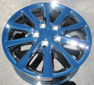 FACTORY CAMRY SOLARA ES330 ES350 CHROME WHEELS RIMS 2010 12  SET OF 4