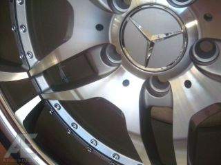 20 Mercedes Benz Wheels Staggered E s CL 430 500 550 63