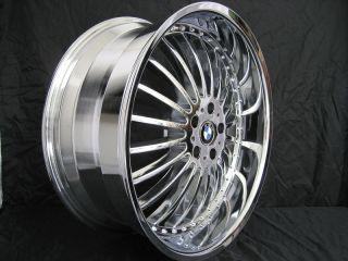 22 Wheels Rims Staggered BMW 7 Series 745 750 760