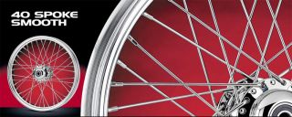 Landmark 40 Spoke 21 Dual Disc Wheel Harley Sportster