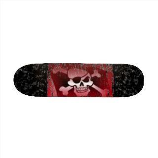 Pirate Jolly Roger Skateboard