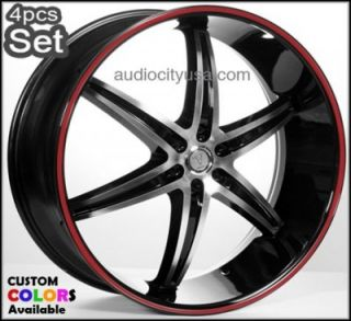 24 Wheels Rims Wheel Rim Chevy Escalade Nissan Siverado