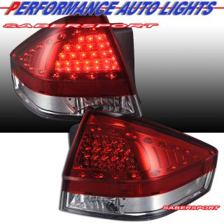 08 11 FORD FOCUS BLACK CCFL HALO PROJECTOR HEADLIGHTS + L.E.D TAIL